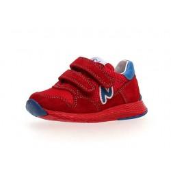 Naturino Sammy velour /rete/sprint rosso-azzurro