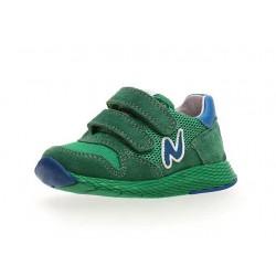 Naturino Sammy velour /rete/sprint rverde -azzurro