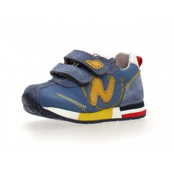 sneakersy Naturino Fresh VL. suede /nylon