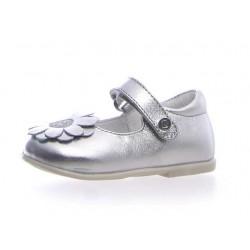 baleriny Naturino Cambre metallic silver