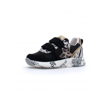 sneakersy Dominic VL suede black-white