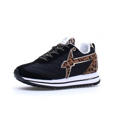 sneakersy KIS J W6YZ black beige